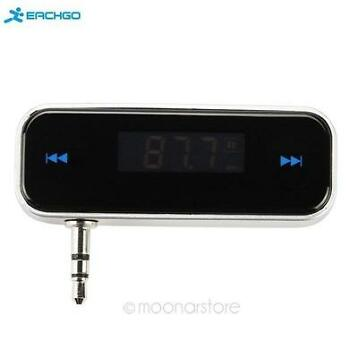 Car MP3 Player 3.5mm Wireless In-car FM Transmitter