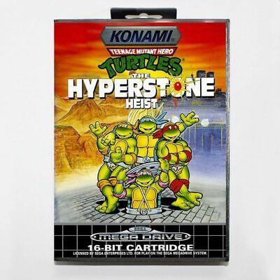 SEGA Mega Drive Hyperstone Heist Teenage Mutant Ninja Hero Turtles Retro Replay