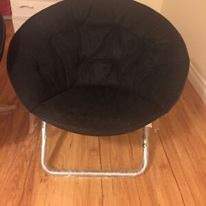 Brand new moon chairs with packing & price tags