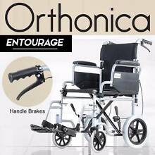 Orthonica Transport Wheelchair with Handle Brakes - Entourage Oakleigh South Monash Area Preview