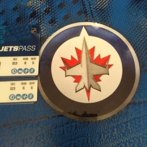 2 Tickets Jets vs Hurricanes selling below cost