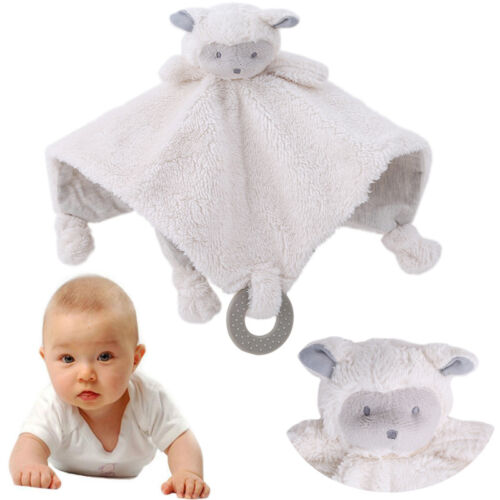 Infant Baby Soft Doll Plush Toy Sleep Appease Towel Blanket T