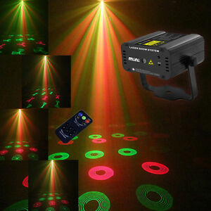 Laser projector dj light party home pub ktv dj equipment for Home lighting effects