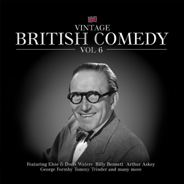 Various Artists-Vintage British Comedy Vol. 6 CD