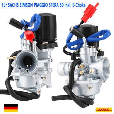 Vergaser Ersatz 17,5mm 2-Takter inkl. E-Choke f. SACHS SIMSON PIAGGIO SFERA 50 W online kaufen