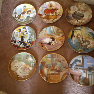 Country Kitties plate collection London Ontario image 1