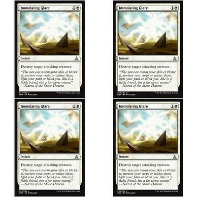 English Oath of the Gatewatch MTG Magic 4x Immolating Glare NM-Mint