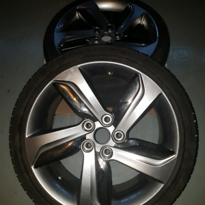 All season rims and tires 18""