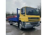 2010 DAF TRUCKS CF 65/220/18 ton dropside/low mileage/New Mot for sale  Swansea