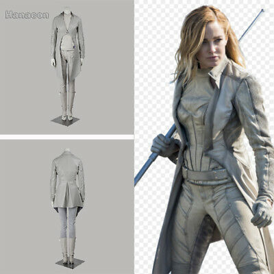 Legendes Halloween (Legends Of Tomorrow White Canary Sara Lance For Women Cosplay Costume)