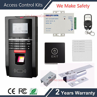 USB TCP IP Fingerprint ID Card Reader 125KHz RFID Door Access Control system