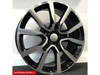"**18"" Adidas Alloys & tyres for VW Golf MK5 MK6 MK7 Jetta Caddy Seat Leon Audi A3 etc**"