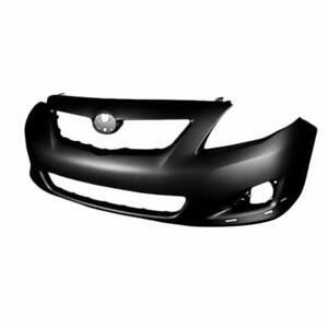 New Painted 2009 2010 Toyota Corolla Front Bumper