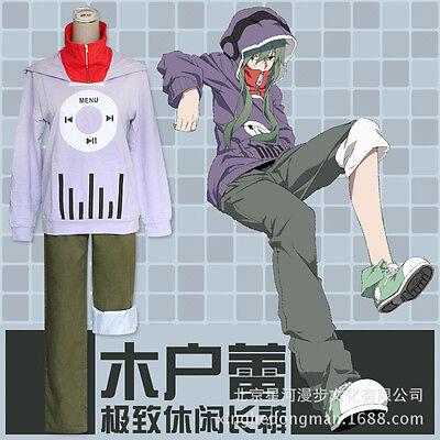 Kagerou Project Kido Tsubomi Halloween Hoodie Suit Cosplay Costume X001](Project X Halloween)