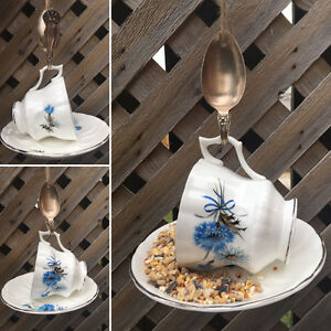 Teacup Bird Feeders