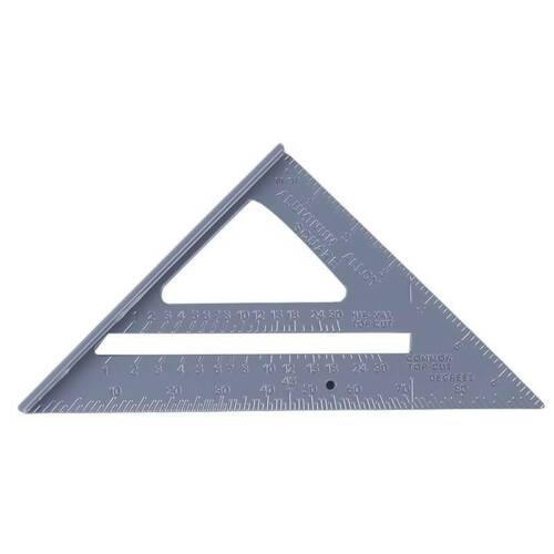 90 Degree Zinc Alloy Right Angle Corner Clamp Try Square Measure Ruler Tool TO