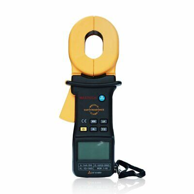 Mastech Ms2301s Clamp Meter Earth Ground Resistance Tester Detector Ohm Meter