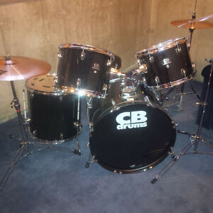 **CB Drum Kit with Sabian Cymbals!**