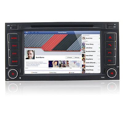 DVD GPS für VW Touareg 3G Navi RDS FM BT USB WIFI Autoradio