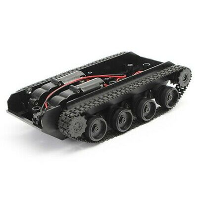 Rc Tank Smart Robot Tank Car Chassis Kit Rubber Track Crawler For Arduino 1 Q7s1