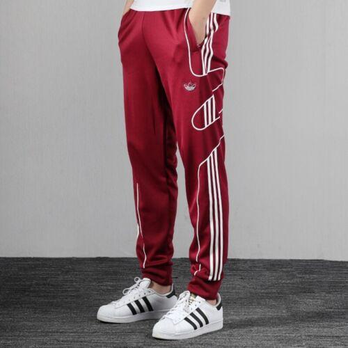 New Adidas Originals 2020 Maroon Pants Soccer Football Gym Running Men Ed7223