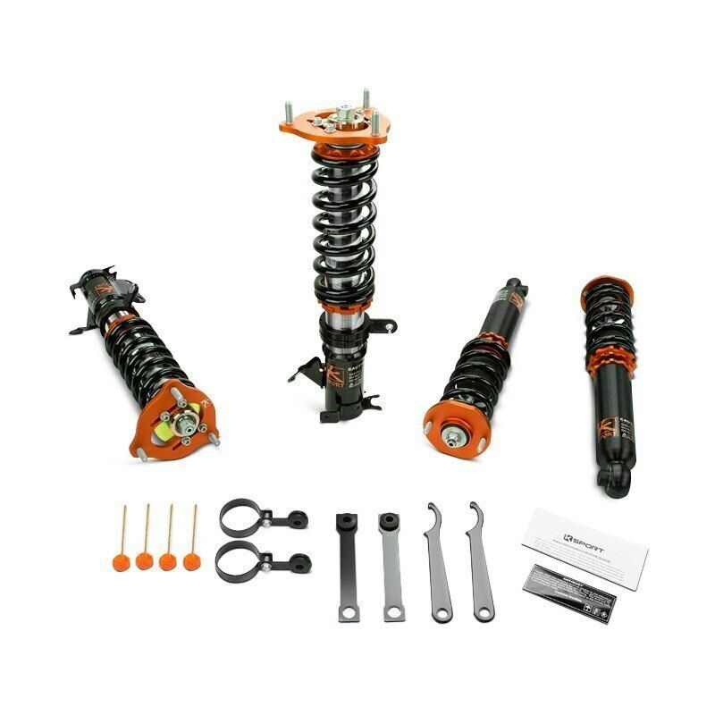 "For BMW Z3 97-02 0.5""-2.5"" x 0.5""-2.5"" GT Pro Front & Rear Lowering Coilover Kit"