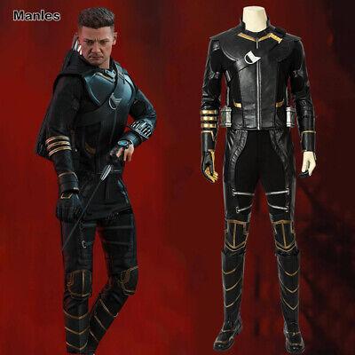 Avengers 4 Endgame Hawkeye Costume Clinton Barton Cosplay Props Men Comic Con - Hawkeye Comic Costume