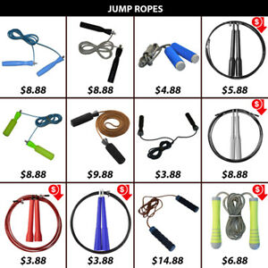 Rope Ropes Skipping Skip Leather Pvc Wire Weighted Jump Jumping