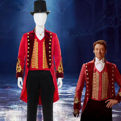 The Greatest Halloween Costumes (The Greatest Showman P. T. Barnum Carnival Cosplay Costume Halloween Red)