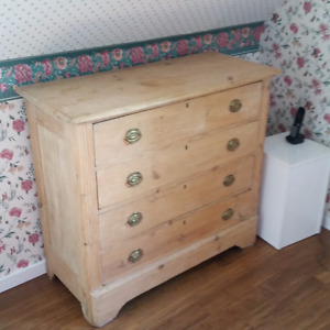 COMODE ANTIQUE  -  ANTIQUE CHEST OF DRAWERS