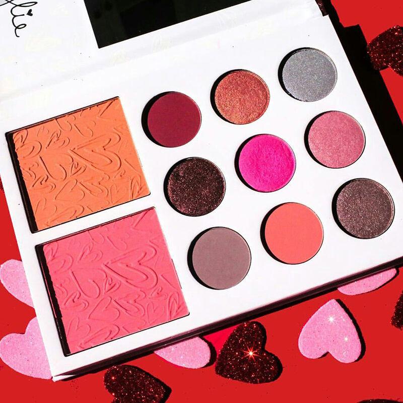 Pro 11 Colors Eye Shadow Cosmetic Makeup Shimmer Matte Eyeshadow Palette Set