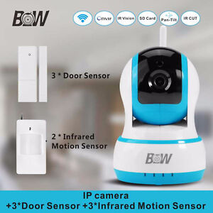 Wireless survillance camera for your house with BW-IPC002
