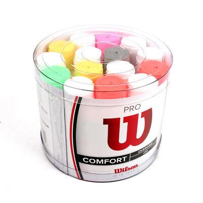 Wilson Tennis Badminton Pro Overgrip Comfort Multi Color 60 Pack WRZ401800