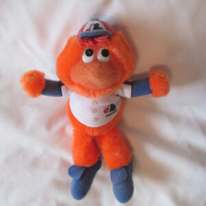 YOUPPI MONTREAL EXPOS PELUCHE 10 POUCE BASEBALL VINTAGE