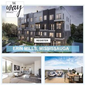 Brand New Townhomes For Sale Mississauga - WAY Towns★ From $500s