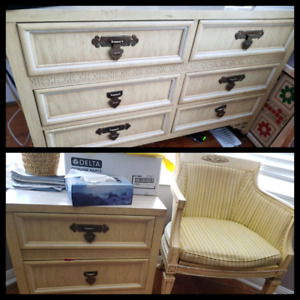 dresser nightstand chair