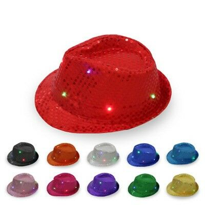 LED Light Flash Hat Hat Hat Jazz Hat Dome Entertainment