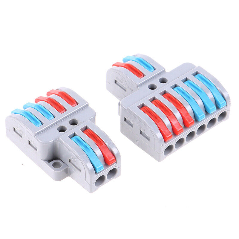 5/10pcs SPL-42/62 Wire Connector Universal Wiring Cable Connector Push w*hl