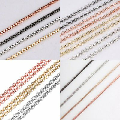 Fashion Charm Round Men Womens Necklace Thin Short Rope Chain Jewelry Party Gift Round Mens Charm