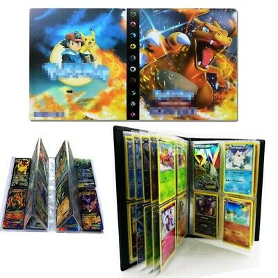 DIY Pokemon 240 Cards Album Book Binder Cards Holder List Collectors Capacity