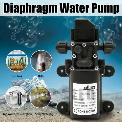 12volt Dc Water Pump Diaphragm Self Priming Sprayer Rv Camper Marine Boat Shower