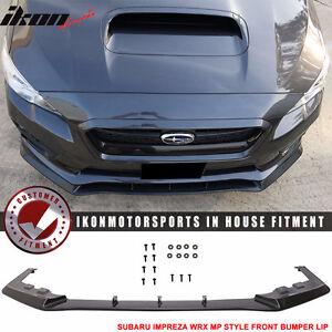 Fit For 15-16 Subaru Impreza WRX MP Style Front Bumper Lip Spoil