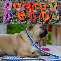 Handmade 550 Paracord Dog Leashes/Collars/Slip Leashes