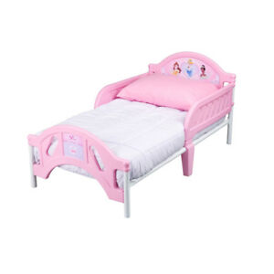 Princess toddler bed  with new mattress