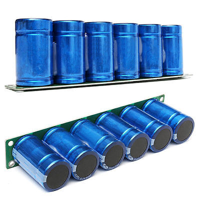 Farad Capacitor 2.7v 500f 6 Pcs1 Set Super Capacitance With Protection Board