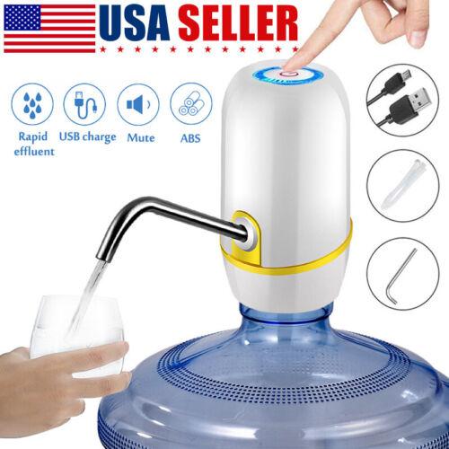 Universal 5 Gallon USB Water Bottle Pump Jug Dispenser Autom