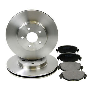 Pagid Front Brake Kit (300mm Vented/Bosch System) Discs & Pads - Jaguar X-Type