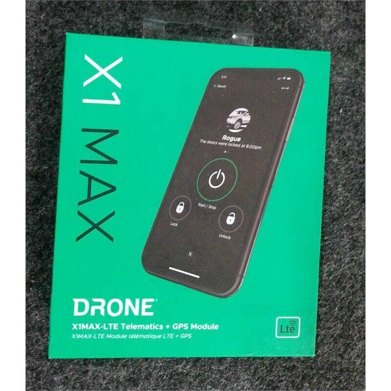 Firstech X1MAX-LTE Drone LTE Telematics + GPS Module Black & Gray