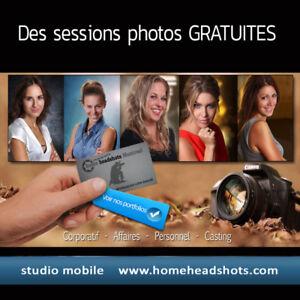 Candidates féminines recherchées pour portraits PRO
