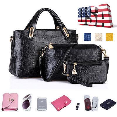 Bag - Fashion Leather Women Handbag Shoulder Bags Tote Purse Ladies Messenger Hobo Bag
